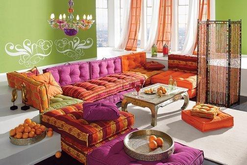 D coration dcorationzen - Salon style oriental chic ...