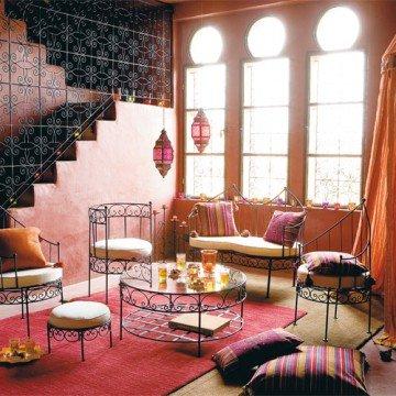 Invitez le charme de l'orient dans votre intérieur dans décoration salon